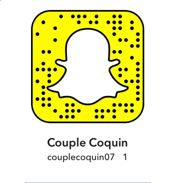 Couple - Bi - 30 ans : Échange snap coquin : Couple coq...