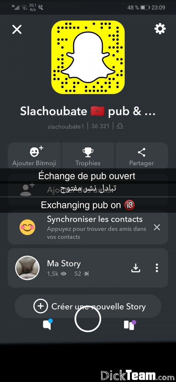 Homme - Bi - 23 ans : Mec marocain 25ans pour snaphot...